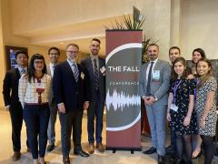 Sean Parker Institute Personnel at Fall Voice 2019